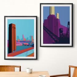 London Twin Set by Oshe Pop!