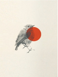 Red Dot Robin - Limited Edition Print