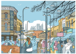 Broadway Market North - Limited Edition Print