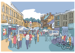 Broadway Market South - Limited Edition Print