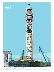GPO Tower by Kavel Rafferty