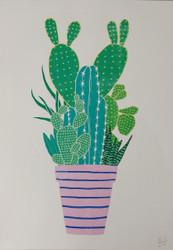 Risograph Cactus