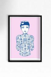Tat Girl Print - El Famoso