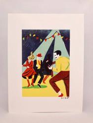 Dancers by Daniel Haskett