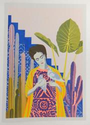 Frida Khalo and Doves