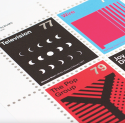 Stamp Album: Post Punk
