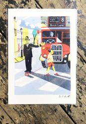 London Bus by Daniel Haskett