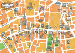 Brick Lane Map