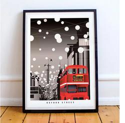 Oxford Street: Christmas in London (Black)