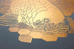 Copper Koi Print