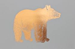 Bear Copper Print