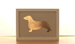 Dog Copper Print