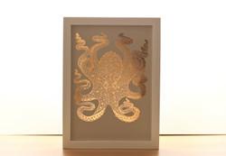Octopus Copper Print