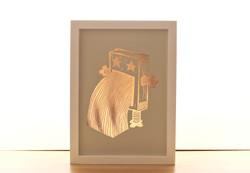 Robot Copper Print