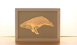 Whale Copper Print