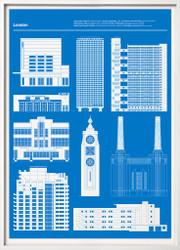 London (Blue)