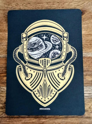 Handmade The Astronaut Heat Foiled Print