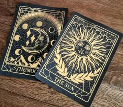 The Sun  Gold Foiled Print
