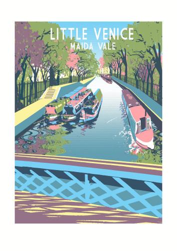 Little Venice Screen Print