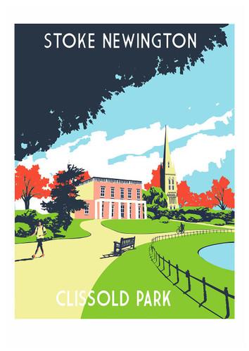Stoke Newington Screen Print