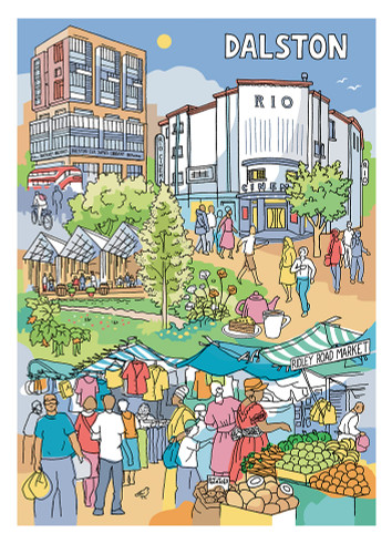 Dalston - Limited Edition Print