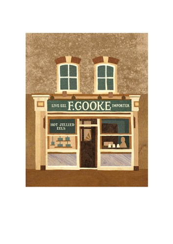 F. Cooke, Broadway Market - Limited Edition Print