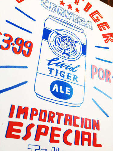 Livid Tiger - Limited Edition Print