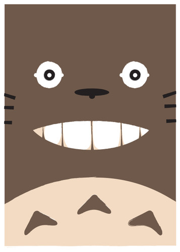 Totoro - Limited Edition Print