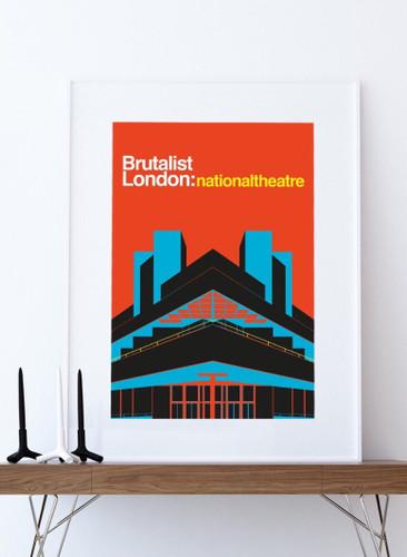 Brutalist London: National Theatre