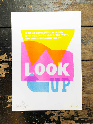 Look Up - Limited Edition Print