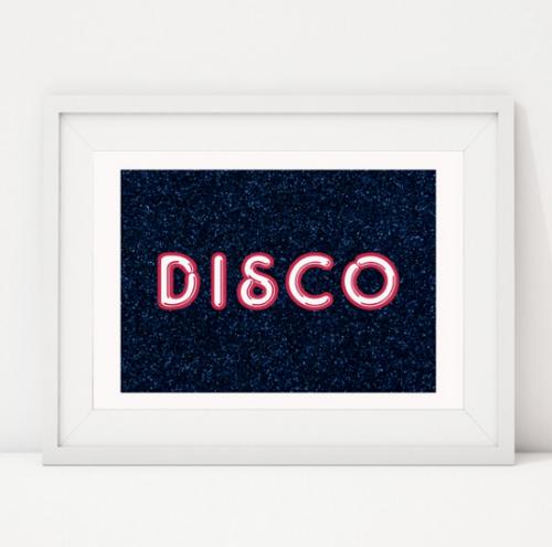 Disco (Blue)