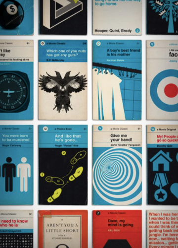 Greatest Movies Book Covers A to Z
