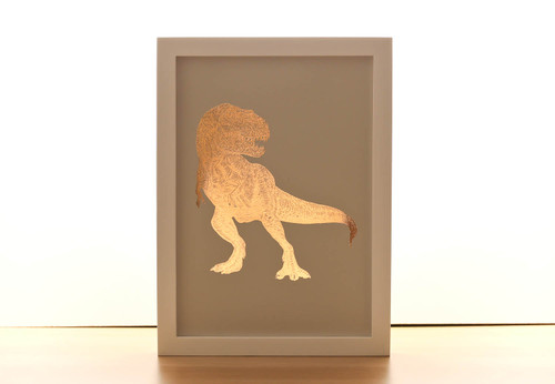 T-Rex Copper Print