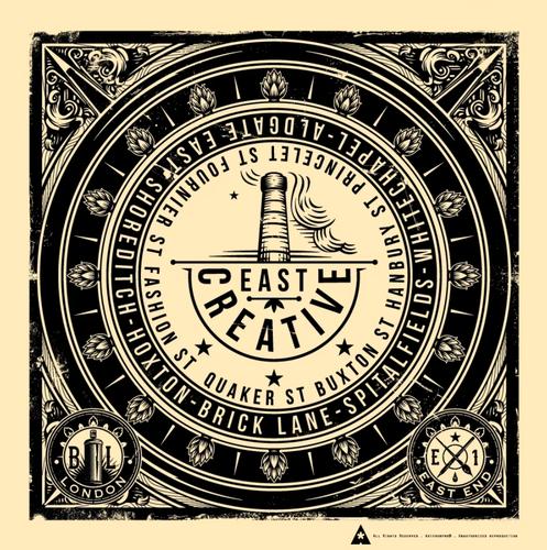 East Creative, Coal hole cover Brick Lane