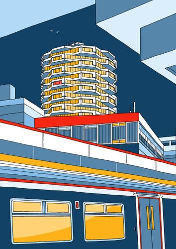 Threepenny Bit Building, Croydon