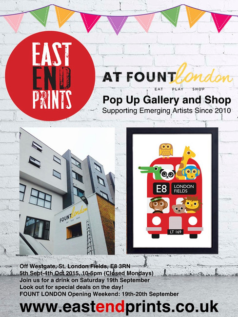 FOUNT LONDON pop up shop with MAIDEN UK