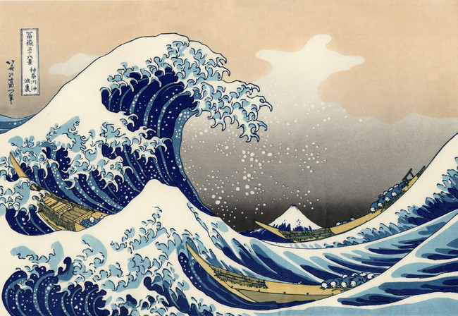 The Old Man Mad About Art: 6 Notes on Hokusai