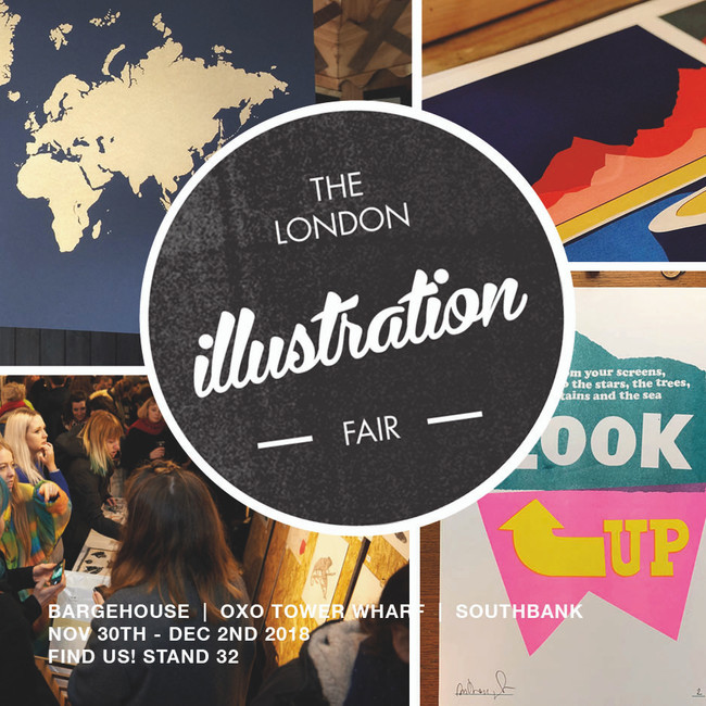 We are off to the London Illustration Fair 2018!