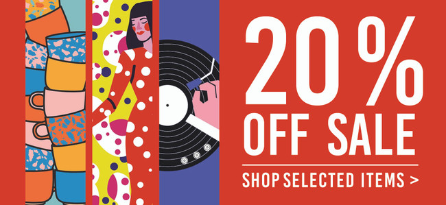 We are having a SALE! Get 20% Off Selected Items