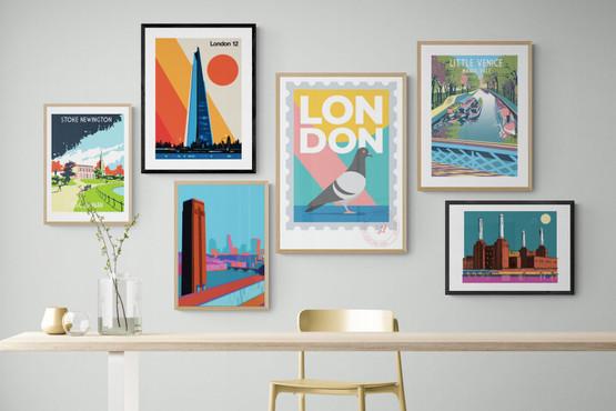London Art Prints