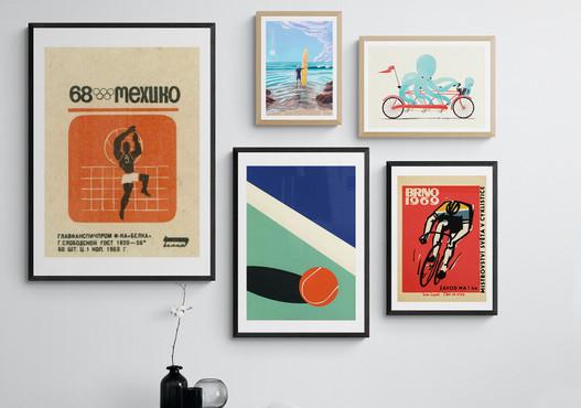 Sport Art Prints