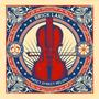 Violin Red & Blue, Coal hole cover Brick Lane