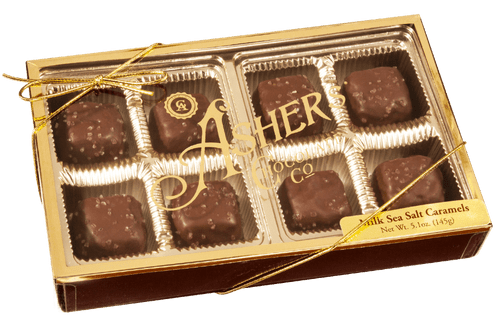 Asher's Chocolates - Sea Salt Caramels