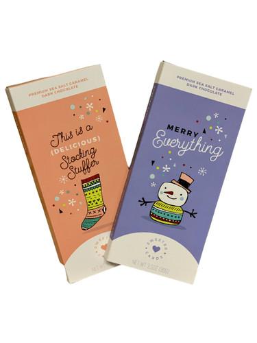 Chocolate Holiday Card