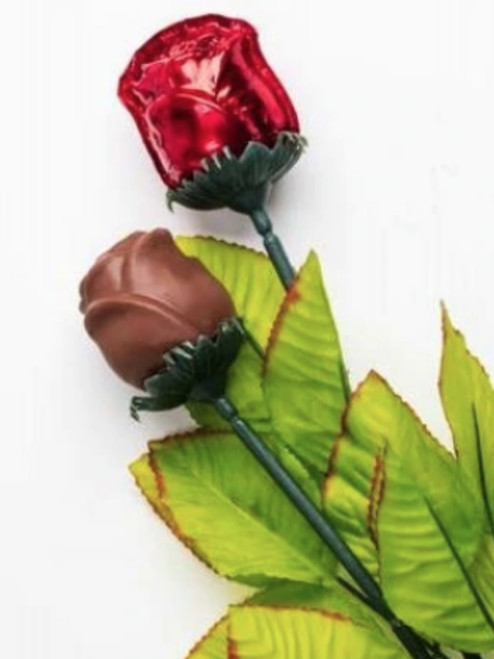 Add a chocolate rose to your bouquet!