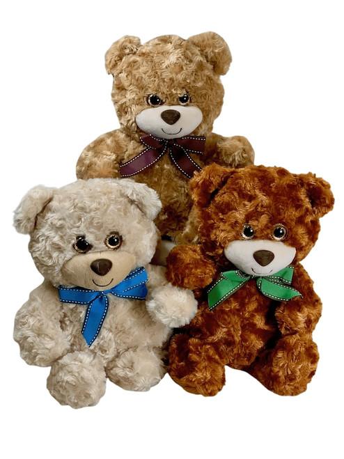 Ten-inch plush teddy bear