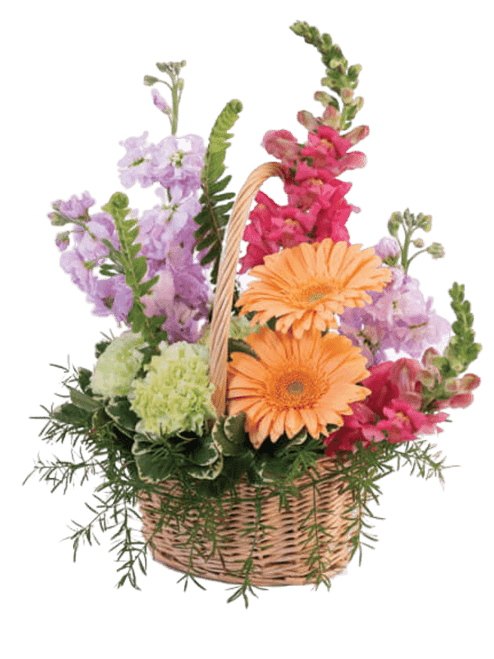 Pleasant Thoughts Basket