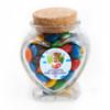 Cupcake Balloon Birthday Heart Glass Jar
