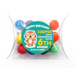 Baby Tiger Birthday Pillow Box