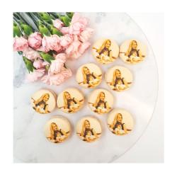 Macaron Printed Macaron with IMAGE